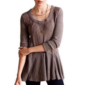 {ANTHRO MEADOW RUE} Skirted Limay Pullover Tunic